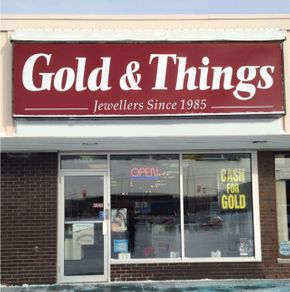 Gold & Things Storefront