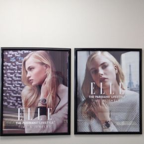 ELLE Time & Jewelry ad